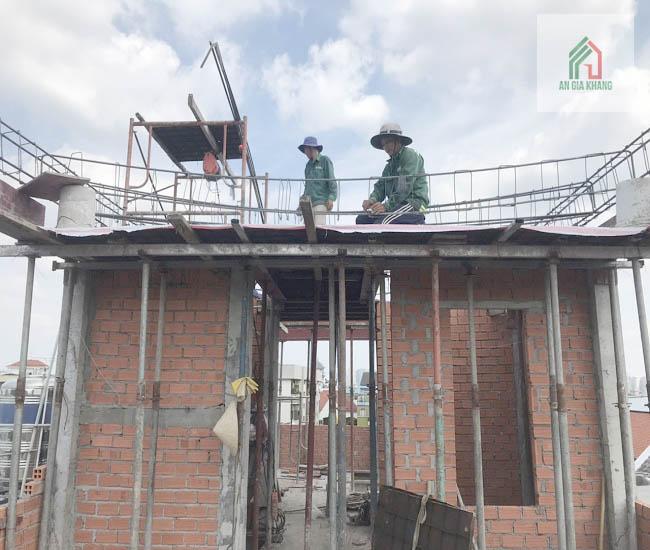 xây thô bao nhiêu tiền m2