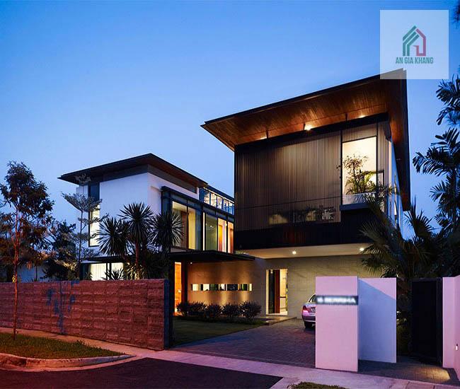 đặc điểm thiết kế biệt thự hiện đại