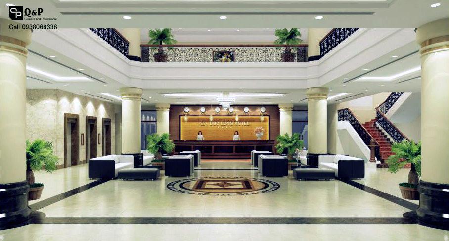 Bố trí nội thất cho khách sạn