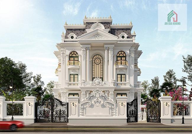 giá xây nhà biệt thự