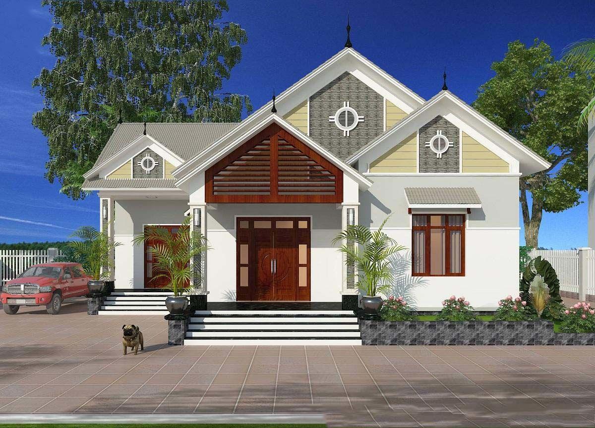 Mẫu nhà mái Thái sang trọng thu hút