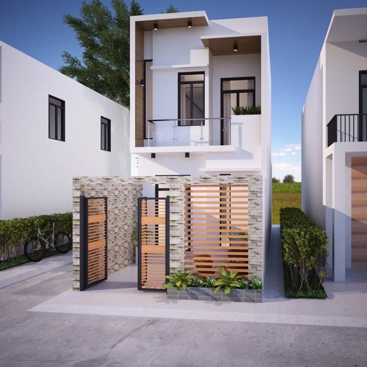 mẫu nhà phố mái bằng sở hữu nhiều ưu điểm vượt trội