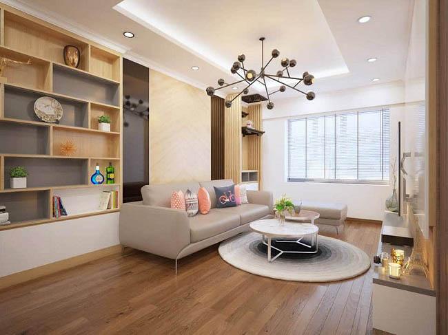 bố trí nội thất đẹp hiện đại