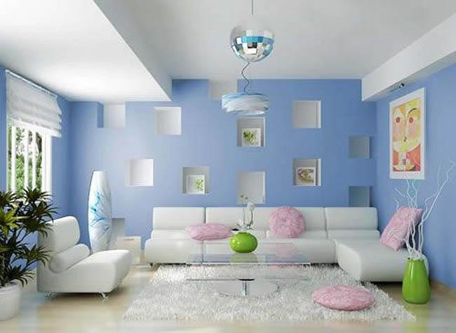 màu sắc nội thất hiện đại