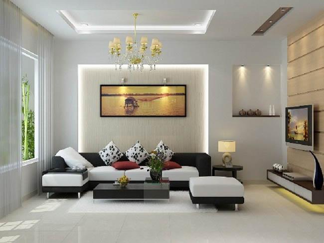 nội thất đẹp phong cách hiện đại