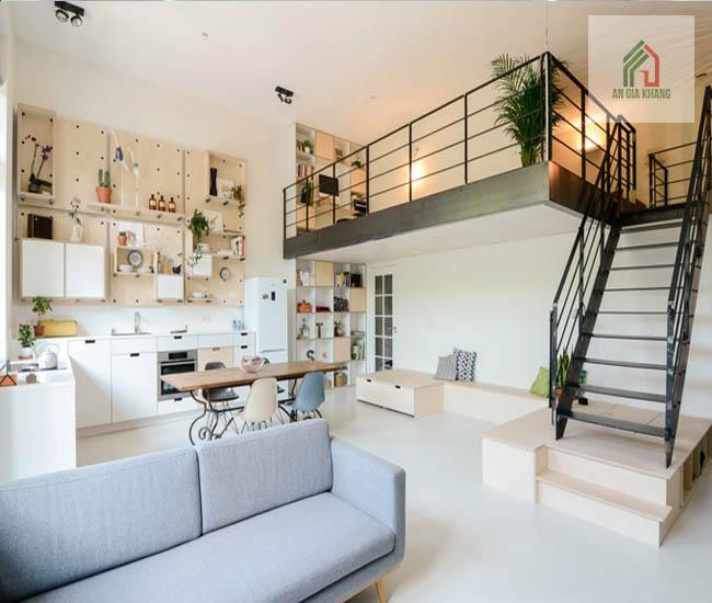 thiết kế nhà 2 tầng có gác lửng là gì