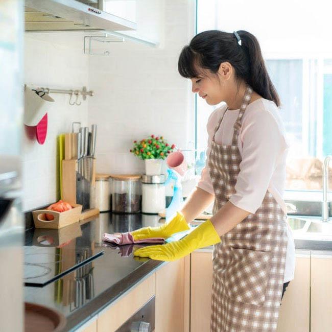 phong thủy cho không gian bếp