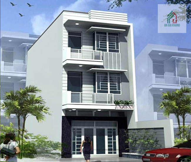thiết kế nhà 3 tầng đẹp