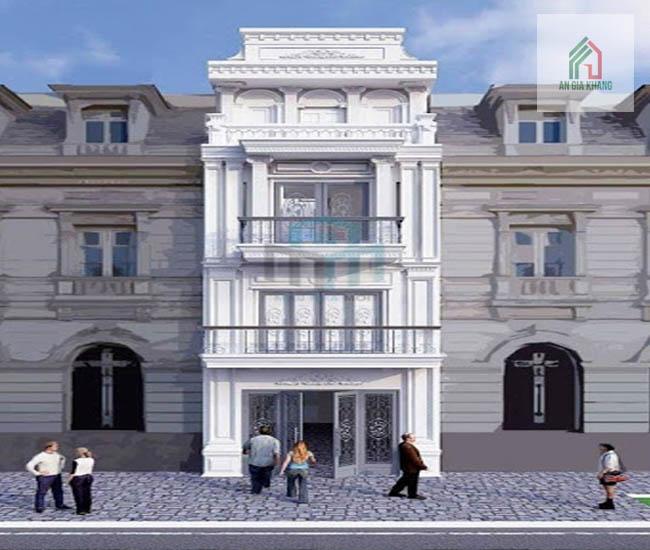 thiết kế nhà phố cổ điển chuyên nghiệp
