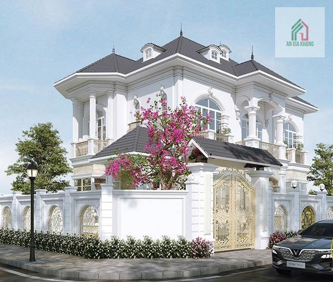 thiết kế nhà vườn 2 tầng đẹp đạt chuẩn