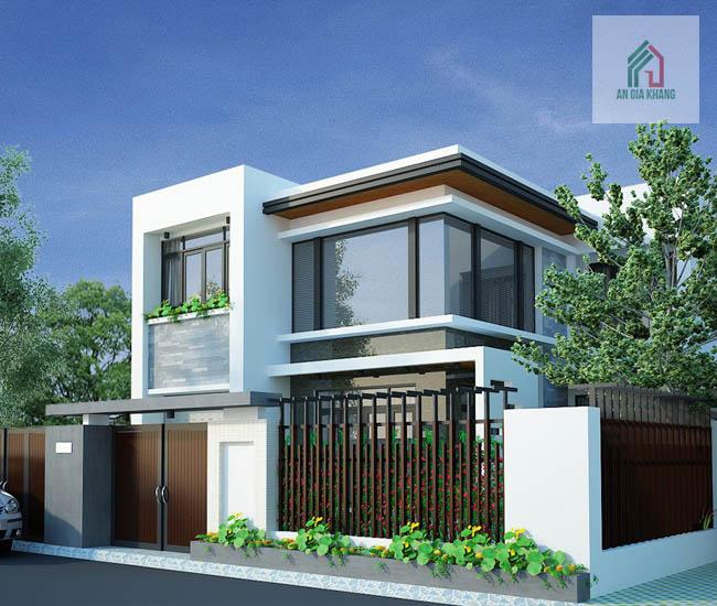 thiết kế nhà vườn 2 tầng đẹp