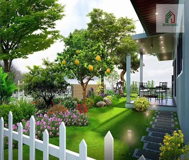 thiết kế nhà sân vườn đẹp