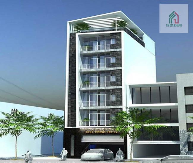 xây khách sạn mini