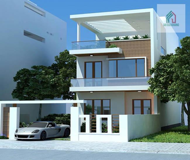 xây nhà khoảng 800 triệu đẹp