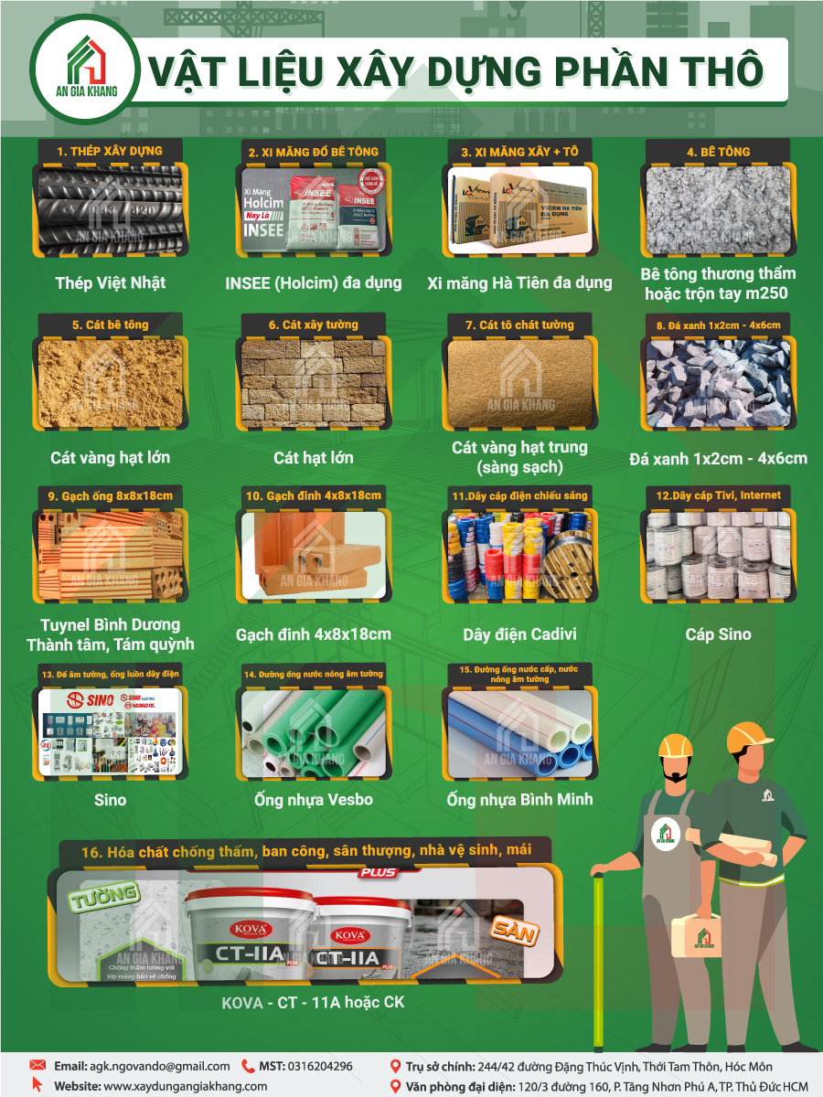 vật liệu xây thô An Gia Khang