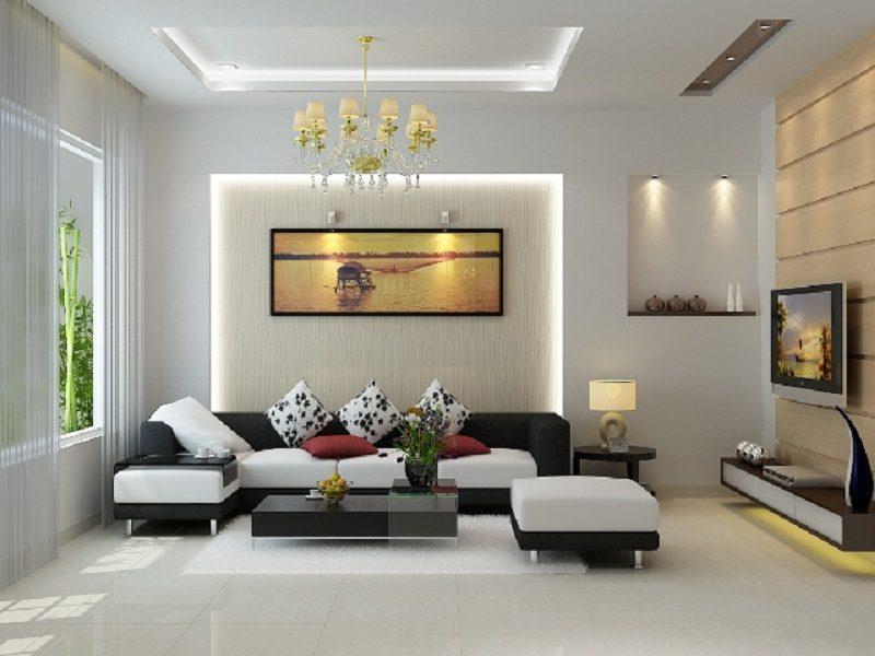 Thiết kế nội thất cho phong cách hiện đại
