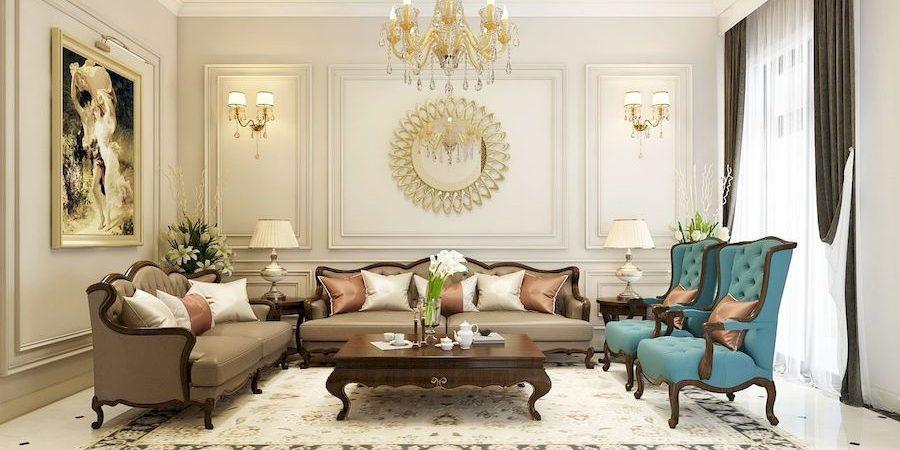 Thiết kế nội thất phong cách tân cổ điển